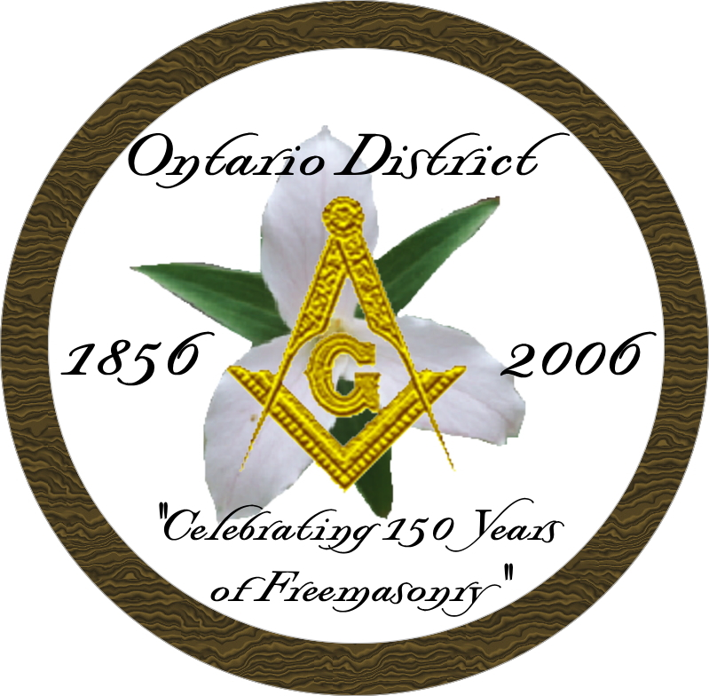 Ontario District 150th Anniversary Pin